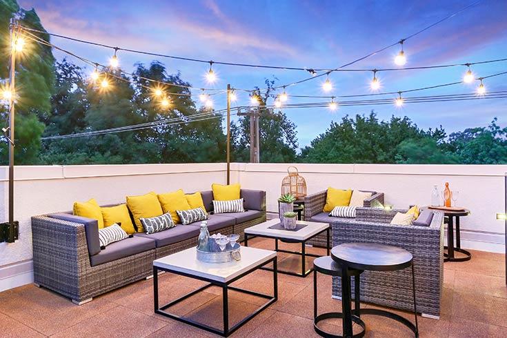 Flooring Inc 2019 Outdoor Flooring Trends - rooftop flooring