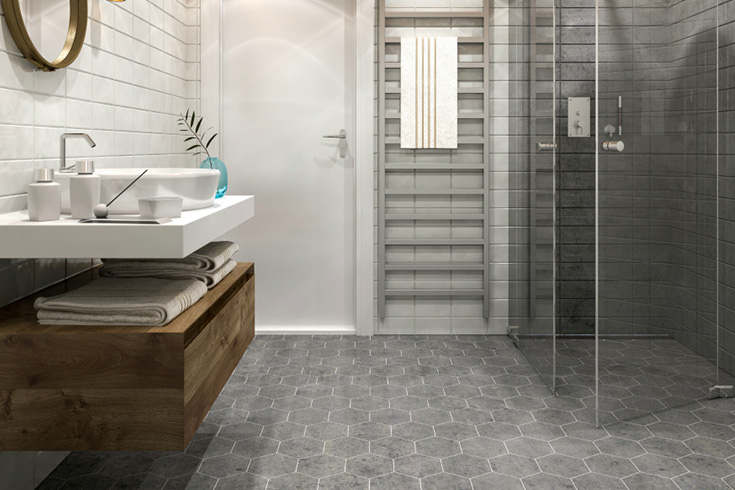 2020 Tile Flooring Trends: 21 Contemporary Tile Flooring ...