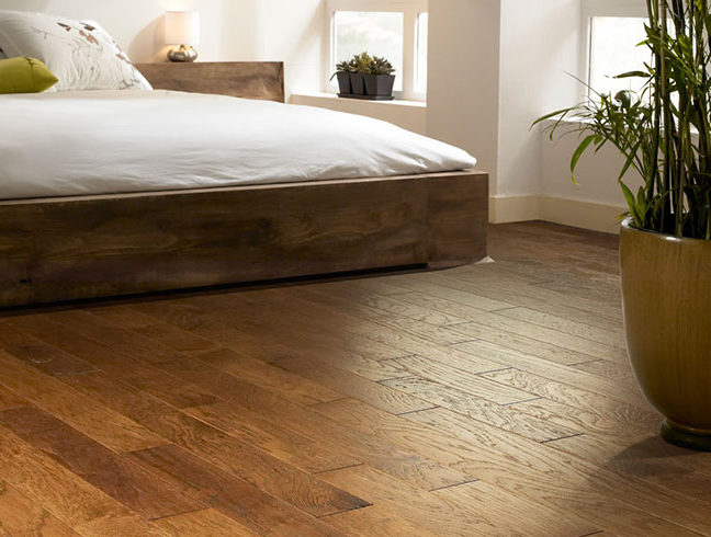 Flooring Inc 2020 Wood Flooring Trends - wood flooring in bedroom setting