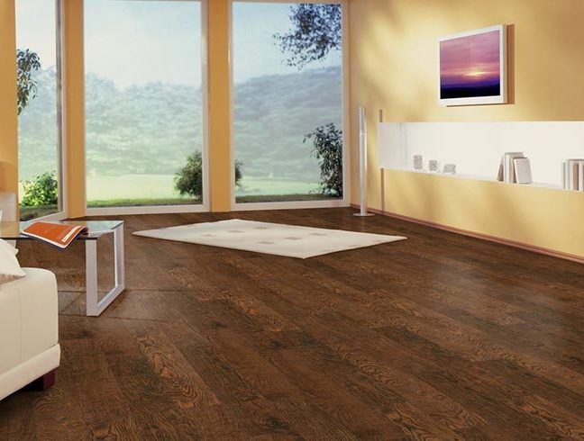 FlooringInc laminate flooring in room setup