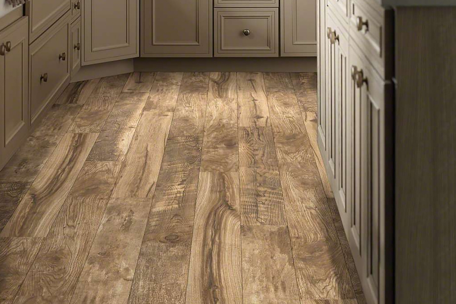 FlooringInc Shaw Laminate Flooring in kitchen setting