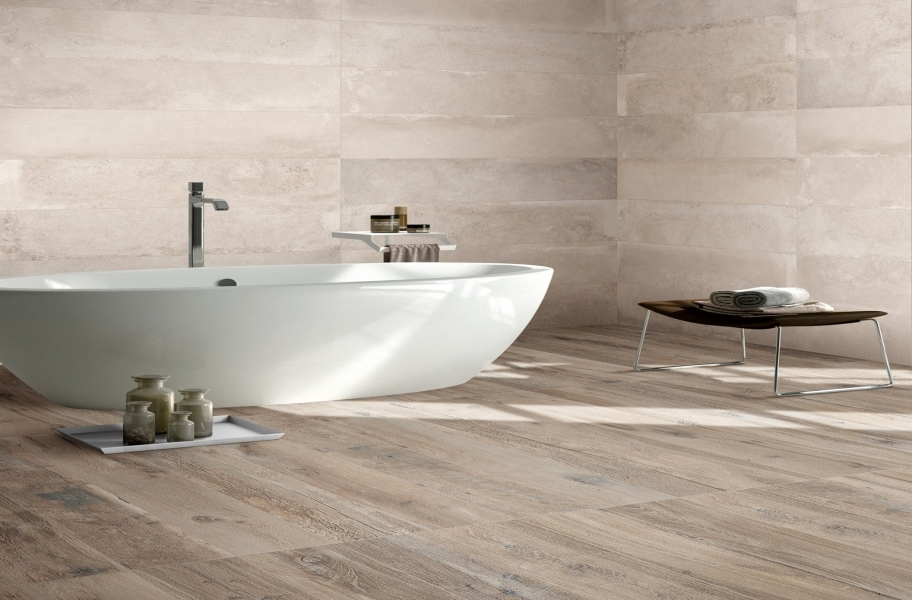 2021 Bathroom Flooring Trends