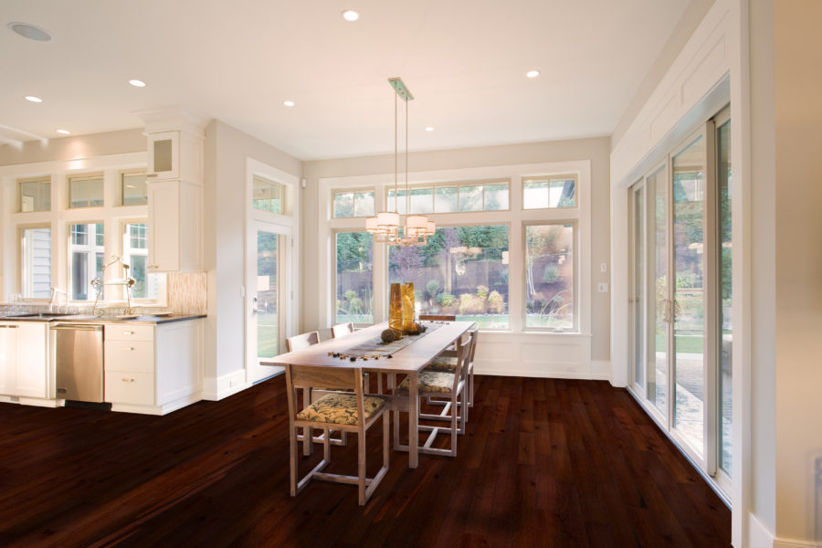 FlooringInc engineered hardwood in a kitchen setting