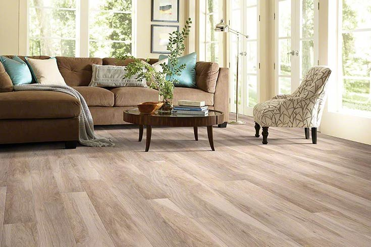 Laminate Vs Engineered Wood FlooringInc laminate flooring in living room setup