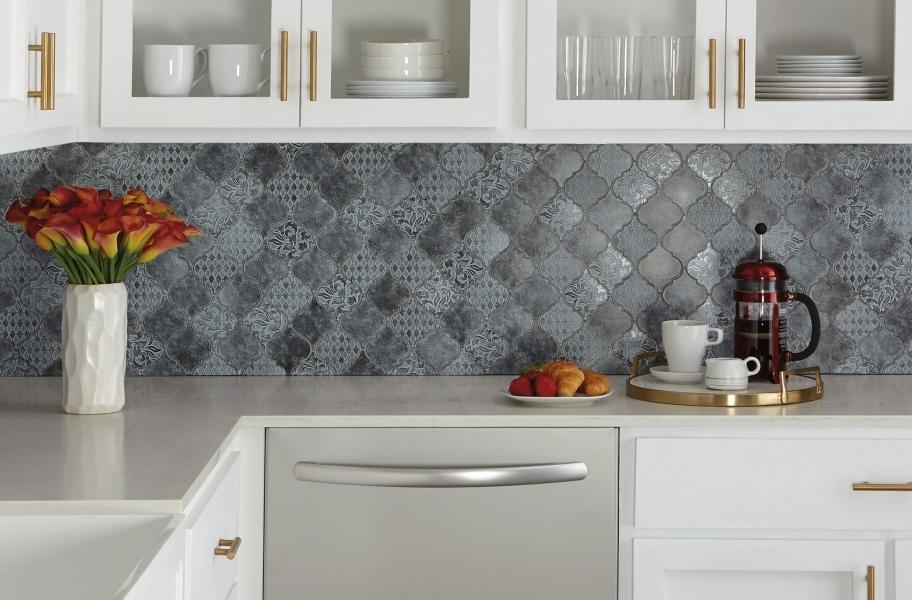 2021 Kitchen Cabinet trends: Open framed cabinets