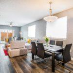 FlooringInc TritonCORE vinyl flooring in living room setting