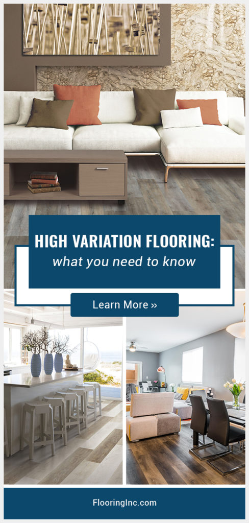 Looking for a bold home design? High variation flooring is sure to make a statement. Check out this guide to learn about ordering, installing and creating a flooring masterpiece.