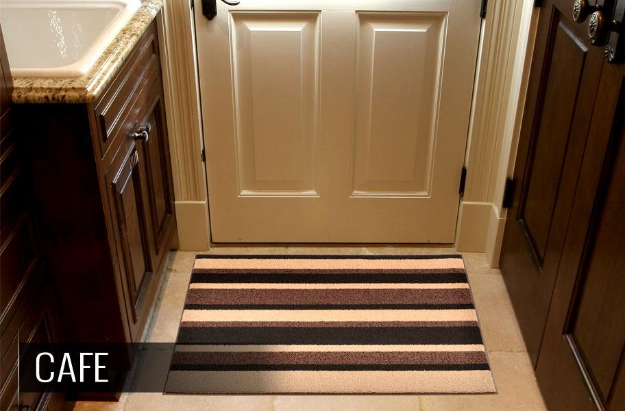 entrance mat at door