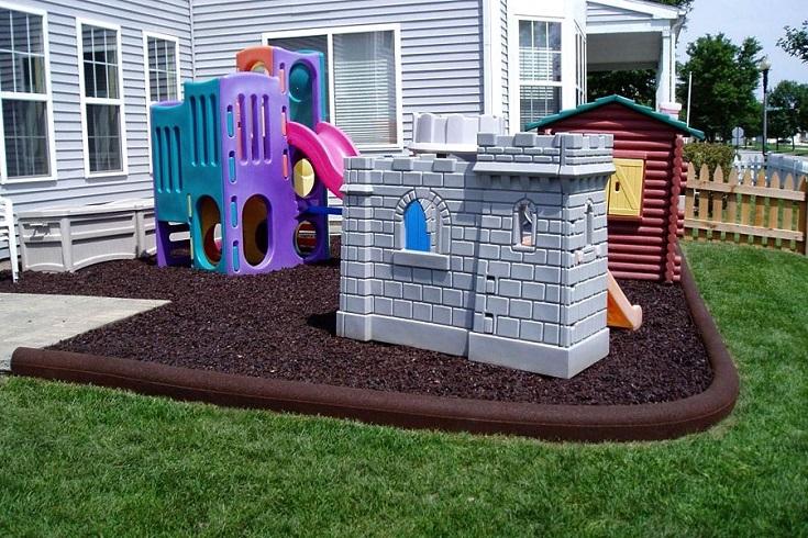 Diy Playground Flooring Installation