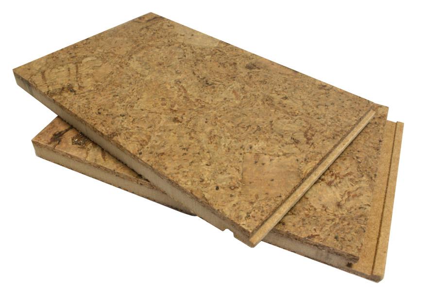Best bathroom flooring options example: Cork flooring for the bathroom