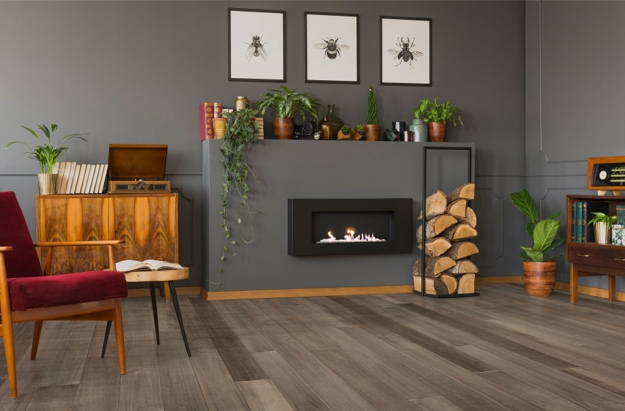 2021 Wood Flooring Trends: Distressed wood flooring