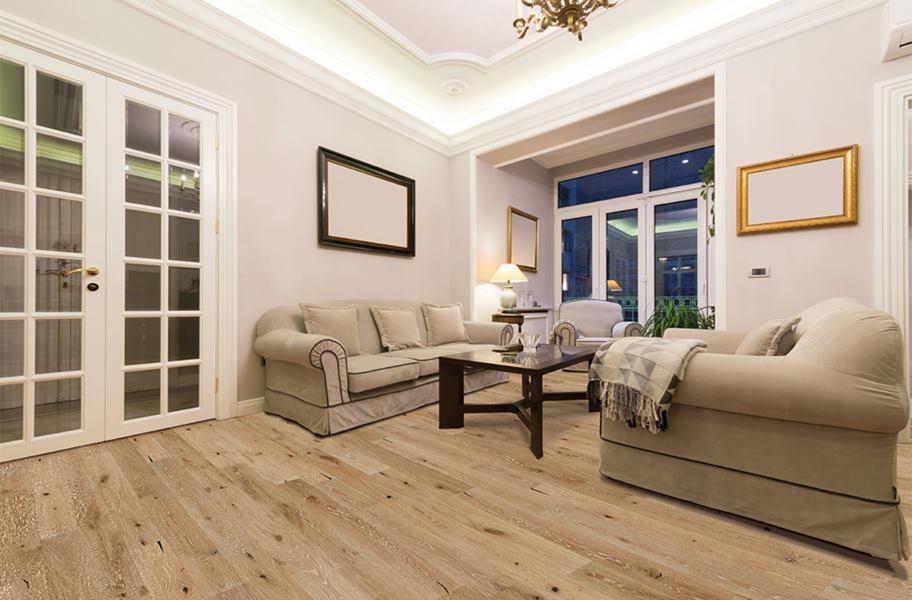 Xu hướng sàn gỗInc 2020: ván gỗ thiết kế mật ong trong khung cảnh phòng khách