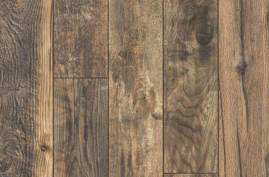 Matte-finished wood flooring