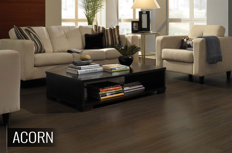 FlooringInc 2020 wood floorin trends: satin finish bamboo