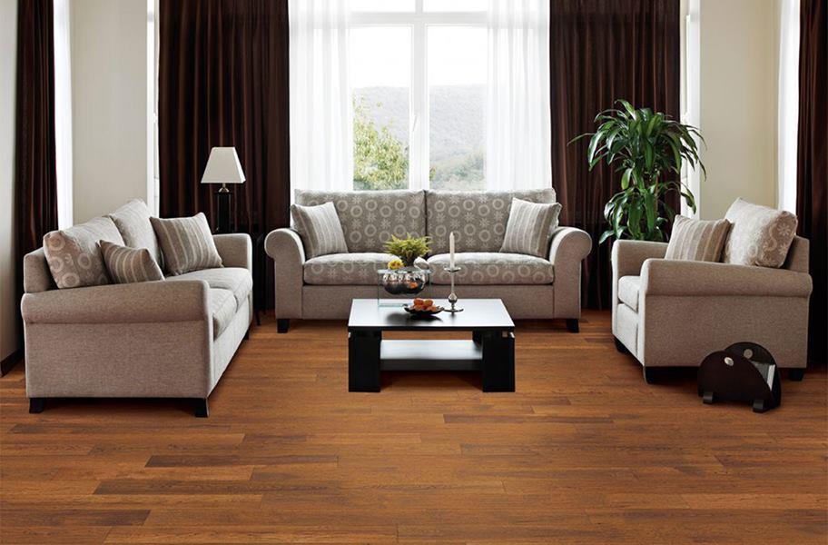 FlooringInc engineered hardwood in a living room setting