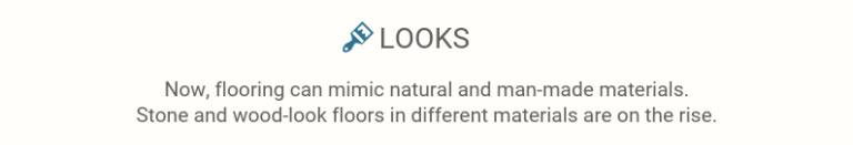 Flooring trends: looks