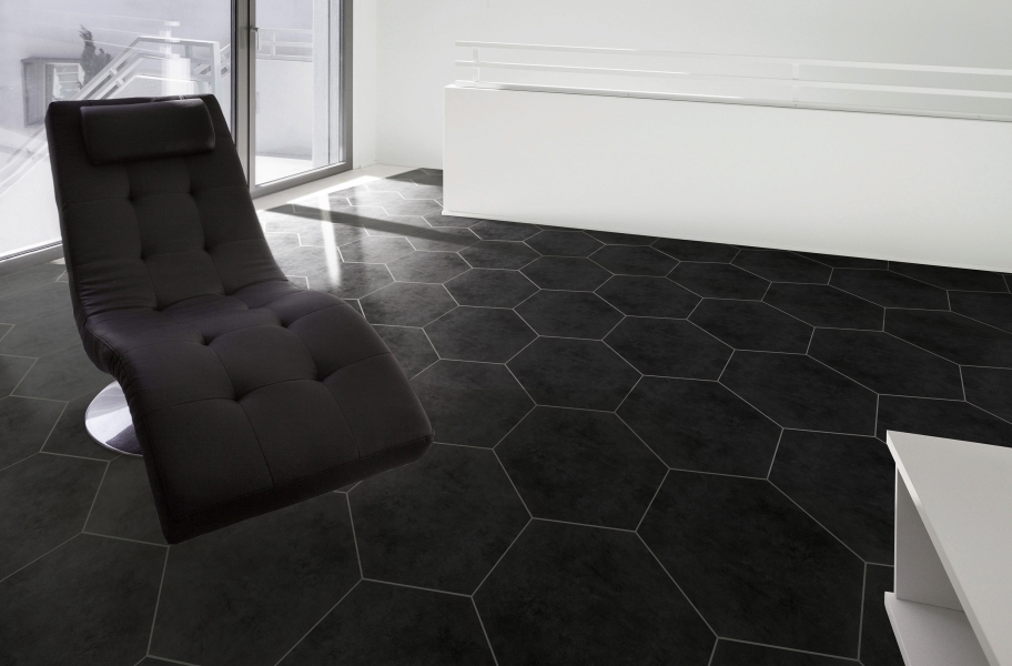 Floor Tile Trends: Daltile Bee Hive