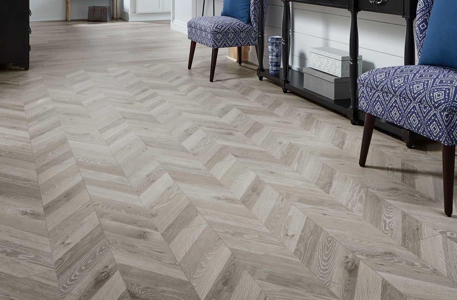 Chevron Laminate Flooring