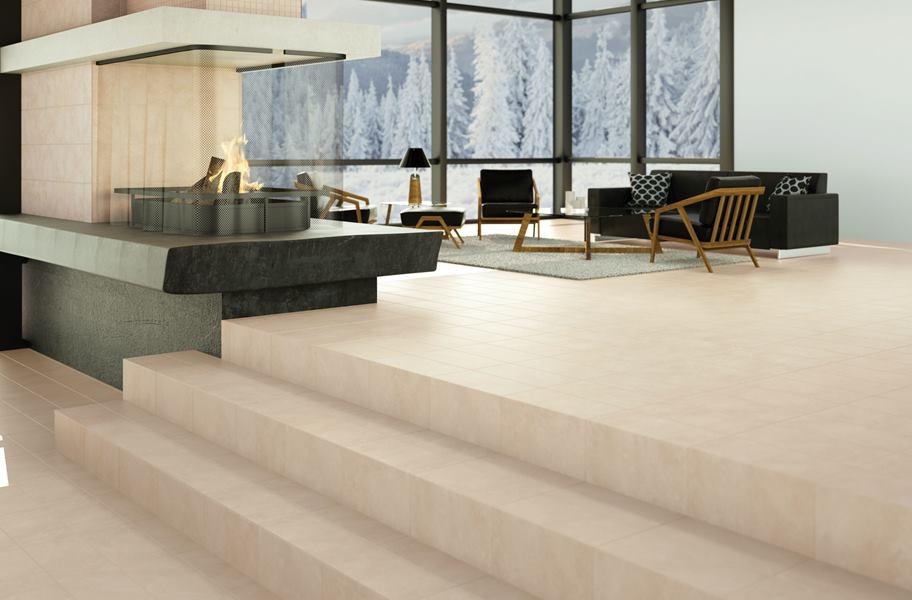 FlooringInc daltile flooring in a living room setting