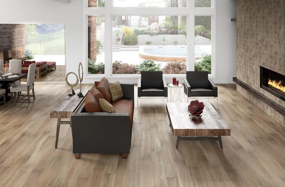FlooringIng daltile emerson wood-look tile flooring