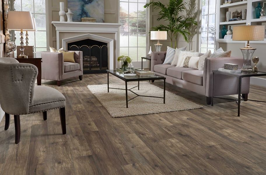 Flooring Trends: 12mm Hillside Hickory Waterproof Laminate