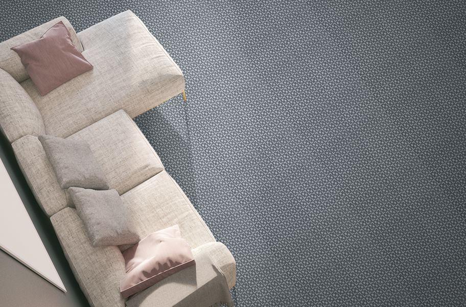 2021 Gray carpet color- Uptown Carpet tile