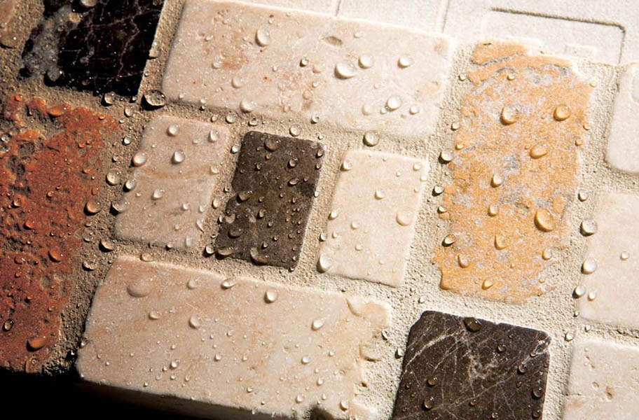 Flooring Inc. Tile Cleaning Guide: grout seal protecting tile