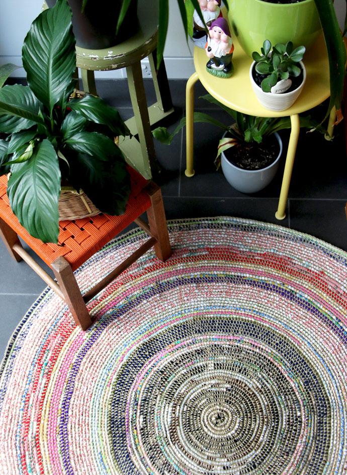 2021 Carpet Trends: Homemade area rug