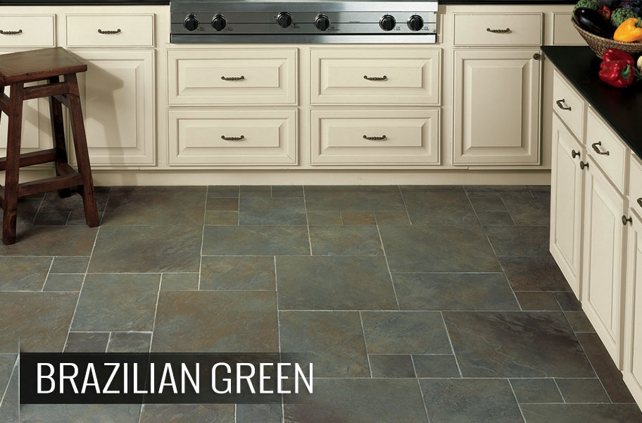Floor tile patterns: multi-tile layout