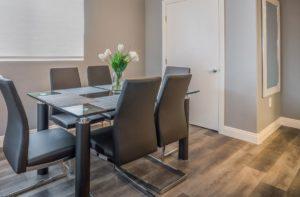 flooringinc tritoncore waterproof vinyl in a dining room setting