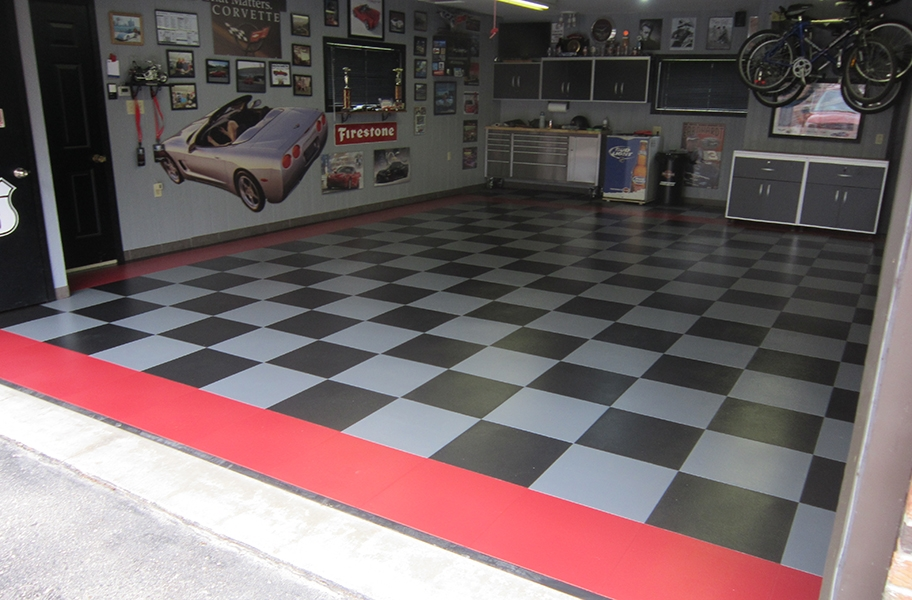 Maintaining Garage Floor Tiles
