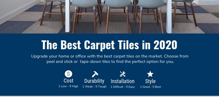 best carpet tile options
