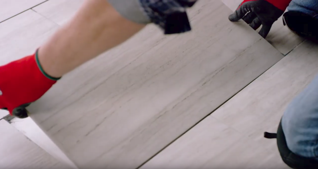 Replacing Daltile RevoTile flooring