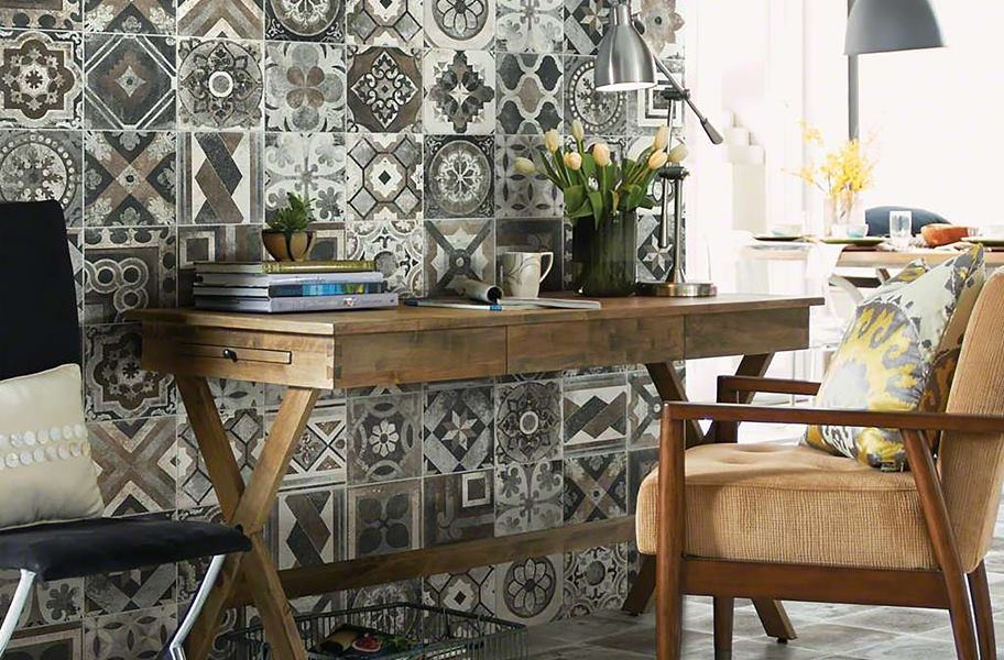Accent Wall Ideas: decorative wall tile