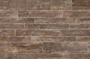 Shabby Chic she shed wall treatment- Daltile Season Wood-Tile