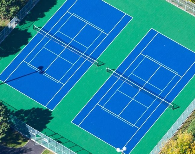 Tennis to Pickleball Court Conversion Guide. Learn to outline and place your pickleball court.