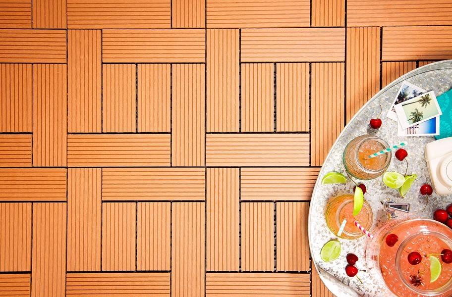 Benefits of Composite Decking- Helios 6 Slat Tiles