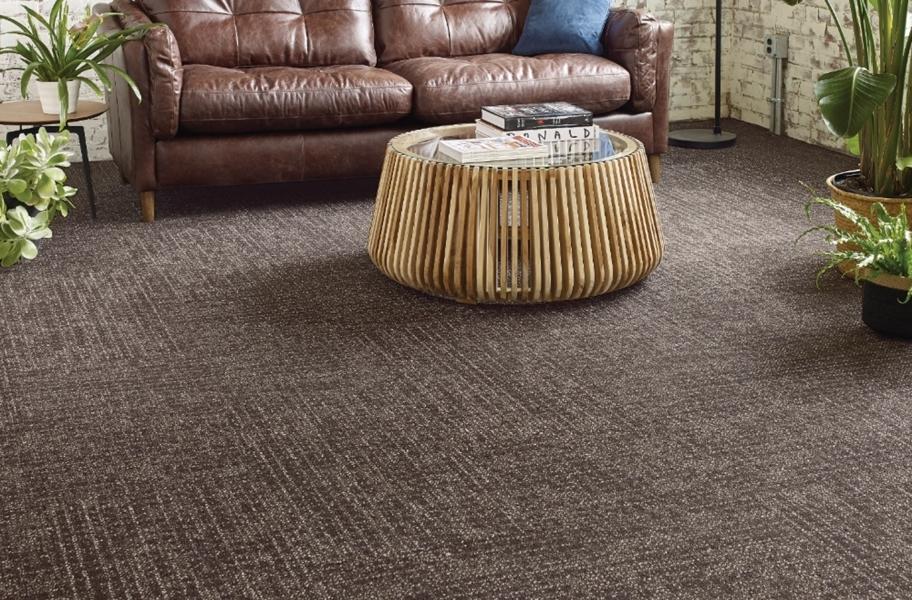 Carpet FAQ: textured carpet tiles