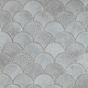Fan Tile Backsplash