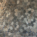 Pebble-look Backsplash