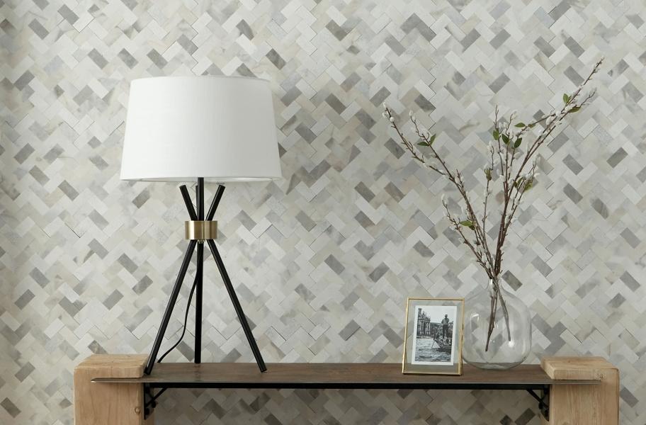 Backsplash Buying Guide: grout-free backsplash tile