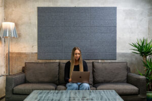 Modernize Your She-Shed: Felt Right Shiplap Acoustic Wall Tiles