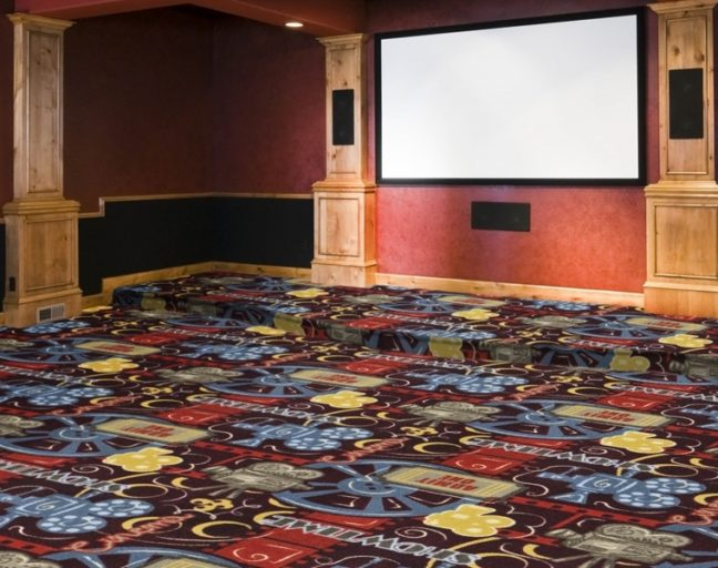 Home Theater Carpet Thickness: What are the Options? Joy Carpets Camera Ready Carpet