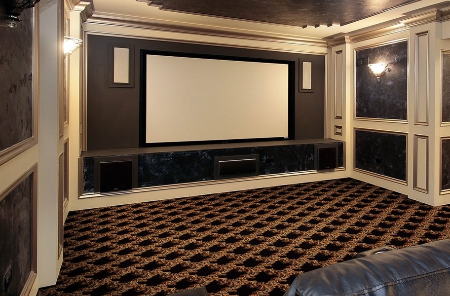 Home Theater Ideas: Joy Carpets Corinth Carpet