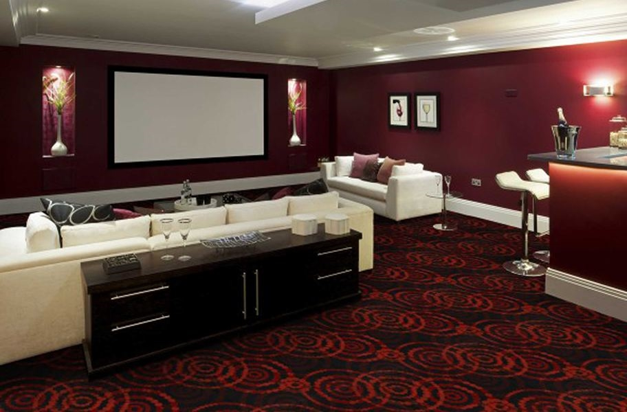 Home Theater Ideas: Joy Carpets Dottie Carpet