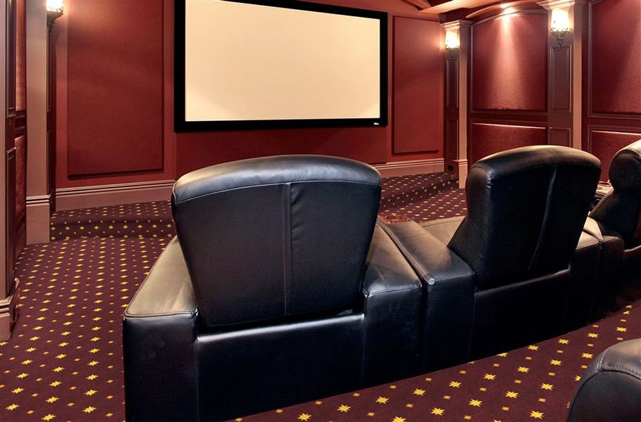 Home Theater Ideas: Joy Carpets Walk of Fame Carpet