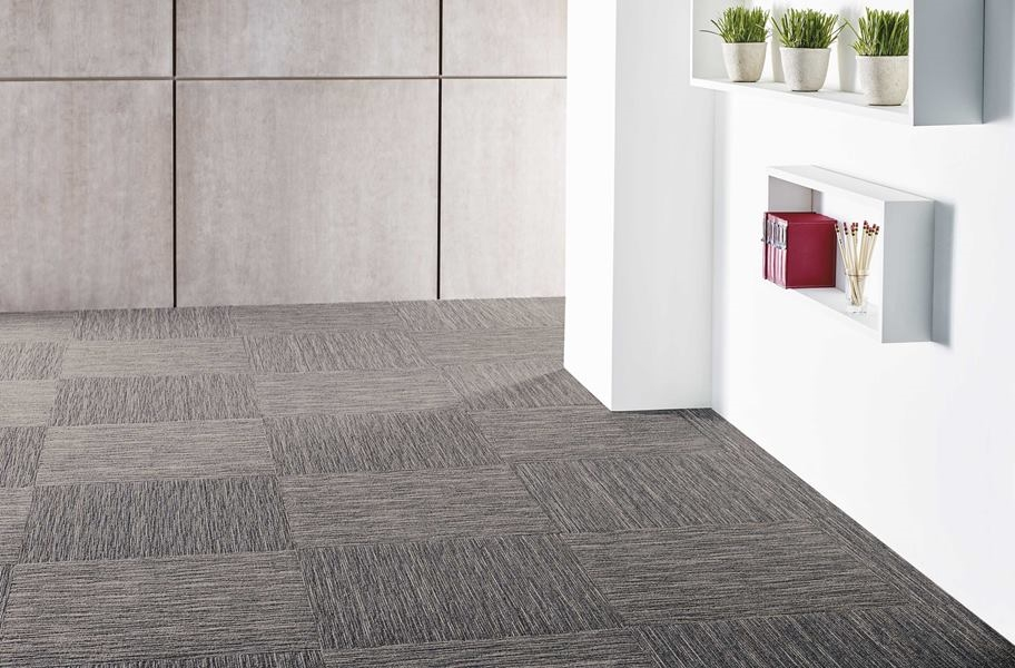 Home Theater Ideas: Shaw Intellect Carpet Tile