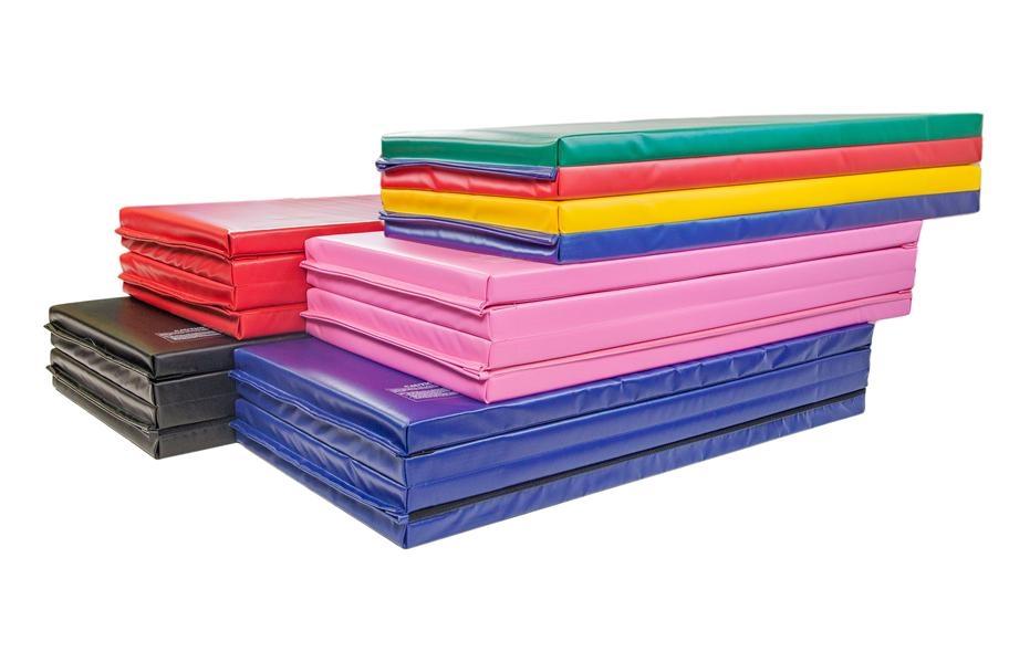 Gymnastics Mats FAQ: 4'x8'x2 Folding Mats