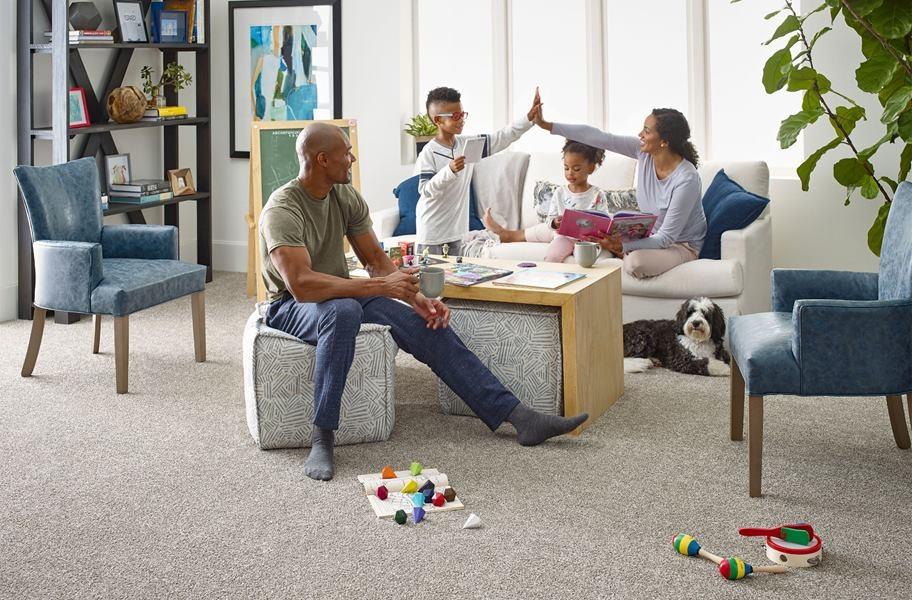 Basic Carpet Cleaning: Floorigami Midnight Snack Carpet Tile