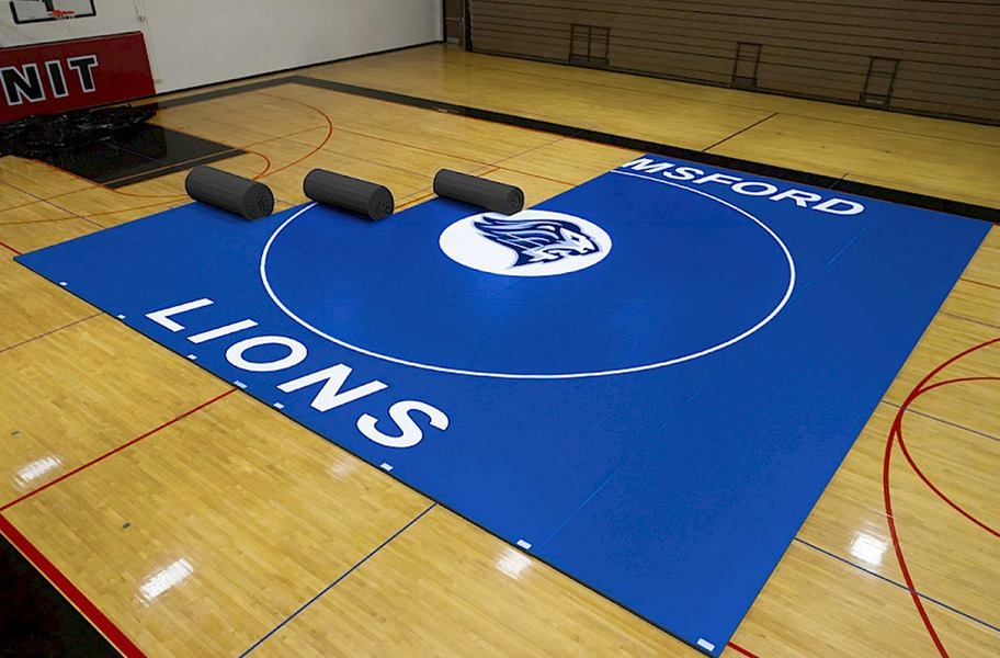 How to Clean Mats Based on Size: Large Scale Wrestling Mats